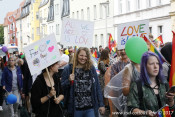 15.07.2017 - 9. CSD Cottbus | Demonstration durch Cottbus